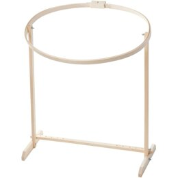 Frank A Edmunds Wood Hoop & Floor Stand