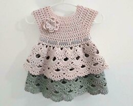 Daisy Double Skirt Flower Dress