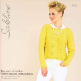 The Third Extra Fine Merino Double Knitting Book by Sublime - 666