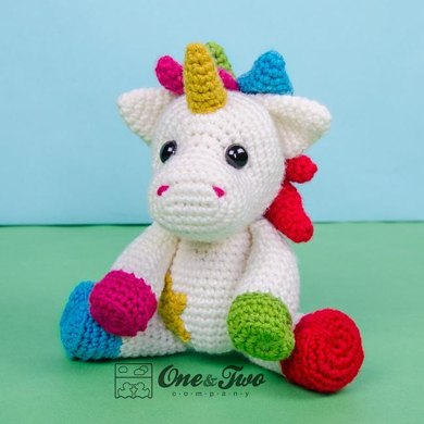 Nuru the Unicorn Amigurumi