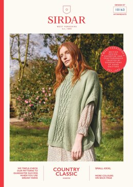 Tabbard in Sirdar Country Classic Worsted - 10163 - Downloadable PDF