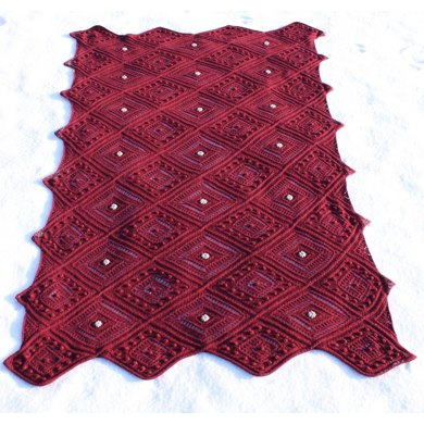 Cable and Lace Shawl and Afghan