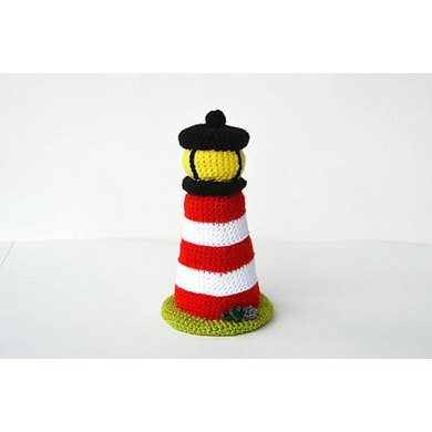 Lighthouse Crochet Pattern, Lighthouse Amigurumi