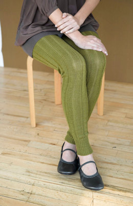 Woodsy Leg Warmers in Lion Brand Sock Ease - 90708AD