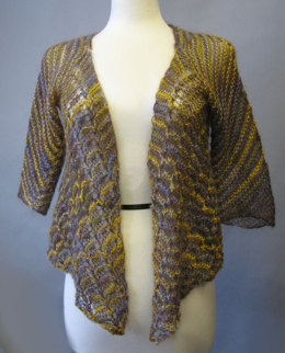 Exotic Lace Jacket in Artyarns Silk Mohair - P103