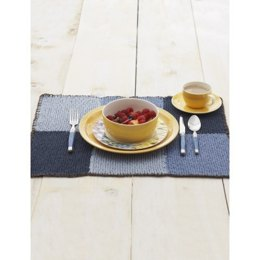 Color Block Placemat in Lily Sugar 'n Cream Solids