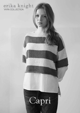 Capri Sweater in Erika Knight Studio Linen
