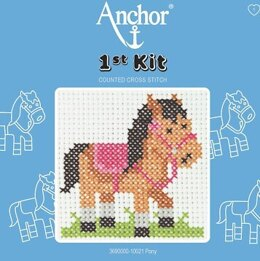 Anchor 1st Kit - Pony Tapestry Kit