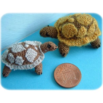 1:12th scale Tortoise toy