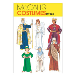 McCall's Christmas Costumes M7228 - Sewing Pattern