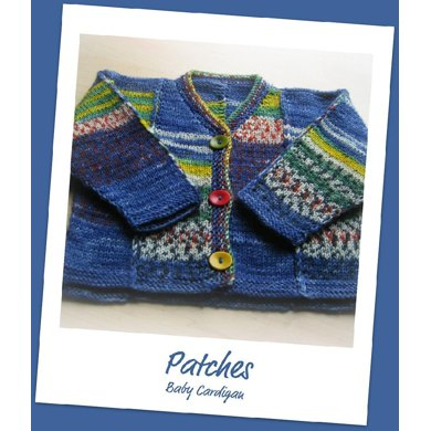 Patches Baby Sweater