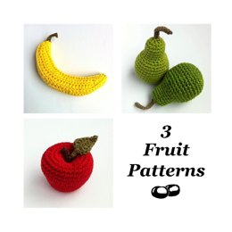 Apple, Pear and Banana - Fruit Collection