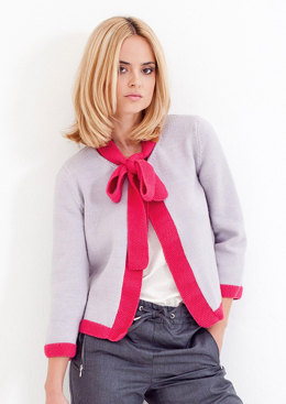 Bella Jacket in MillaMia Merino Wool