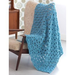 Light and Airy Afghan in Patons Canadiana