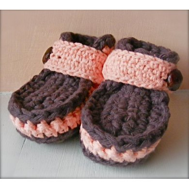 Little Strollers Moccasins Baby Booties