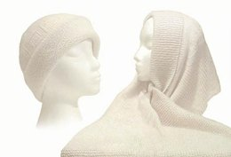 Cashmere Hat & Scarf to Knit