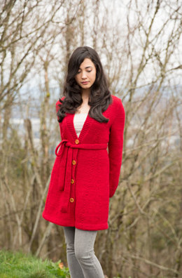 Harvest Sweater Coat in Imperial Yarn Erin - PC46-D