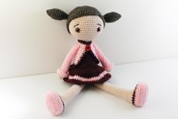 Crochet Amigurumi Doll Pattern