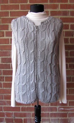 Vest in Universal Yarn Uptown Worsted