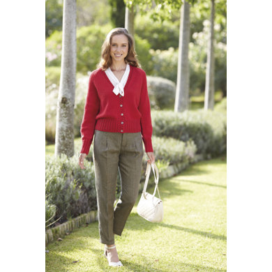 Womens Cardigan in Sirdar Country Style 4 Ply - 7044