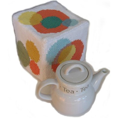 KGeometry: Cube Tea Cozy with Circles
