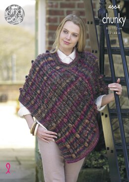 Cape & Tabard in King Cole Chunky - 4664