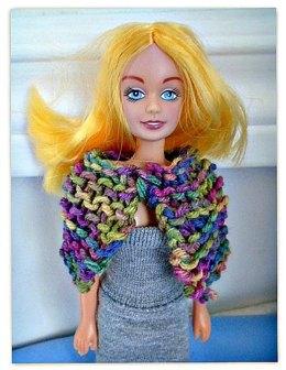 Barbie Doll Cape