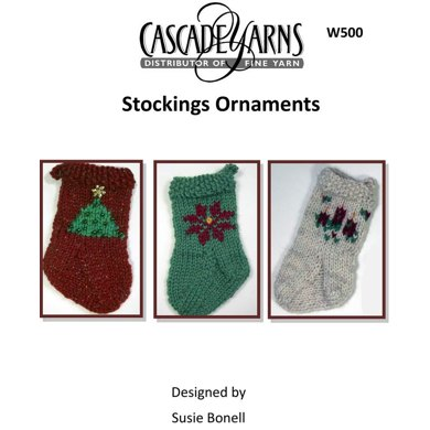 Stocking Ornaments in Cascade Hollywood - W500