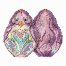Mill Hill Purple Chick Cross Stitch Kit