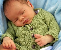 Bitty Cabled Cardigan