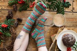 Basic knit sock