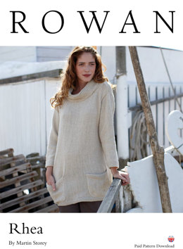 Rhea Sweater in Rowan Creative Linen
