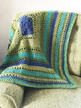 Granny Filet Square Afghan