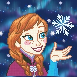 Vervaco Disney Anna Diamond Painting Kit - Multi