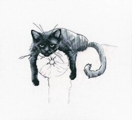 RTO Among Black Cats 3 Cross Stitch Kit