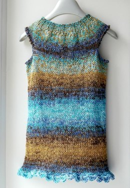 Knitted Summer Girls Dress