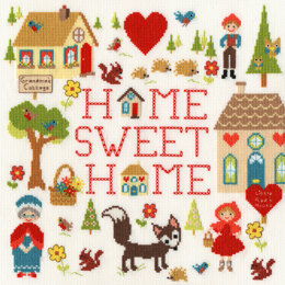 Bothy Threads Home Is Where The Heart Is Cross Stitch Kit