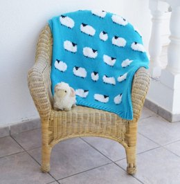 Flock of Sheep Blanket