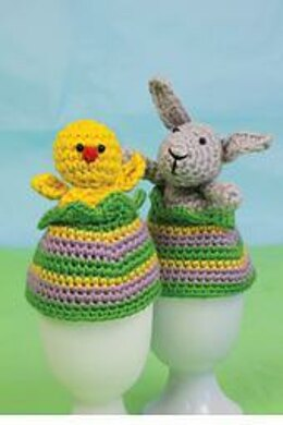 Bunny and Chick Egg Cozies