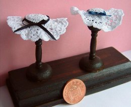 1:12th scale lace hats