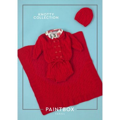 Knotty Set - Free Knitting Pattern for Babies in Paintbox Yarns Baby DK - Downloadable PDF