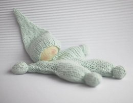 Waldorf knitted doll for small babies