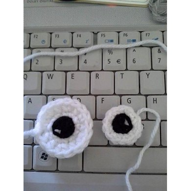 Eye-Eye Amigurumi Eye pattern