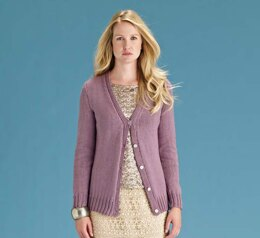 Rue Cardigan in Rowan Handknit Cotton - Downloadable PDF