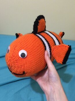 Cuddly Clown Fish Pattern