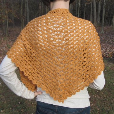 Autumn Leaves Shawlette