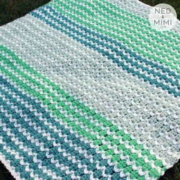 Spring To Life Baby Blanket