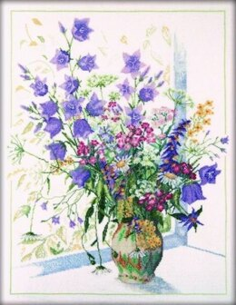 RTO Bouquet with Bluebell Cross Stitch Kit