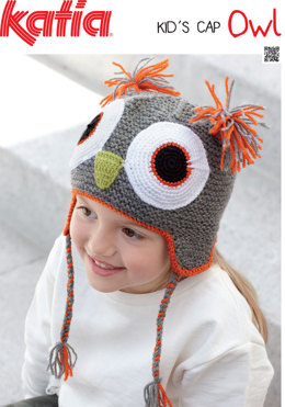 Hat in Katia Kid's Cap Owl
