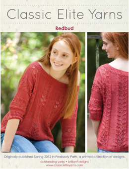 Redbud Pullover in Classic Elite Yarns Firefly - Downloadable PDF